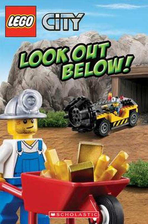 NEW-Lego-City-Look-Out-Below-by-Michael-Anthony-Steele-Paperback-Book-English