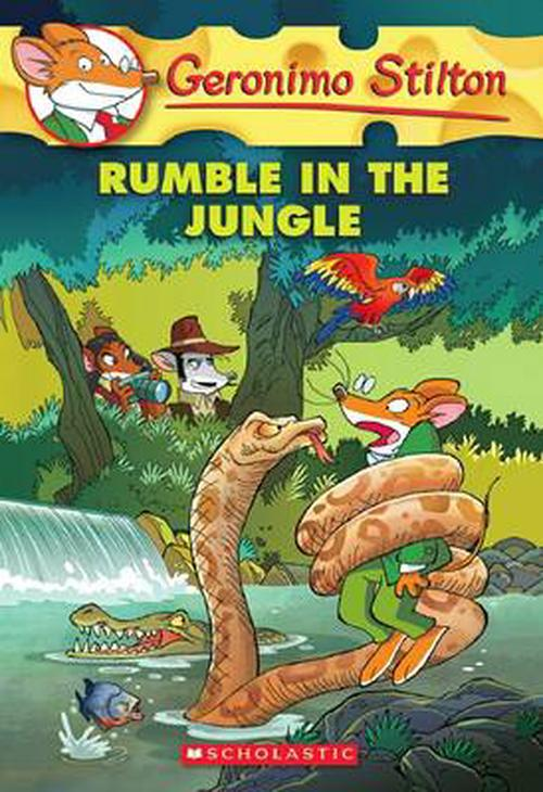 NEW-Rumble-in-the-Jungle-by-Geronimo-Stilton-Paperback-Book-English-Free-Shipp