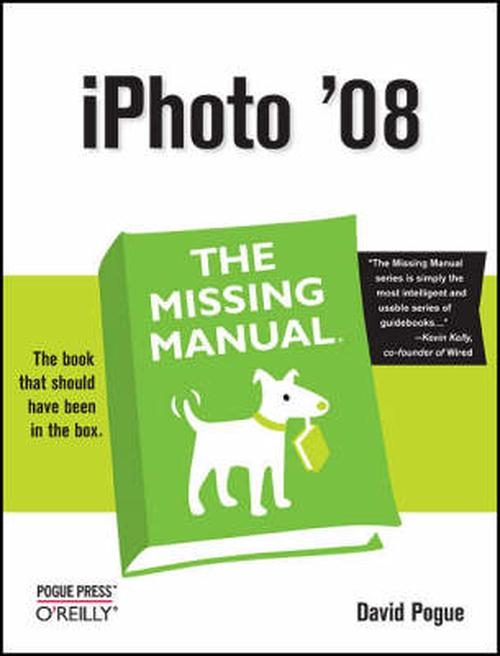 NEW-iPhoto-08-The-Missing-Manual-by-David-Pogue-Paperback-Book-English-Free