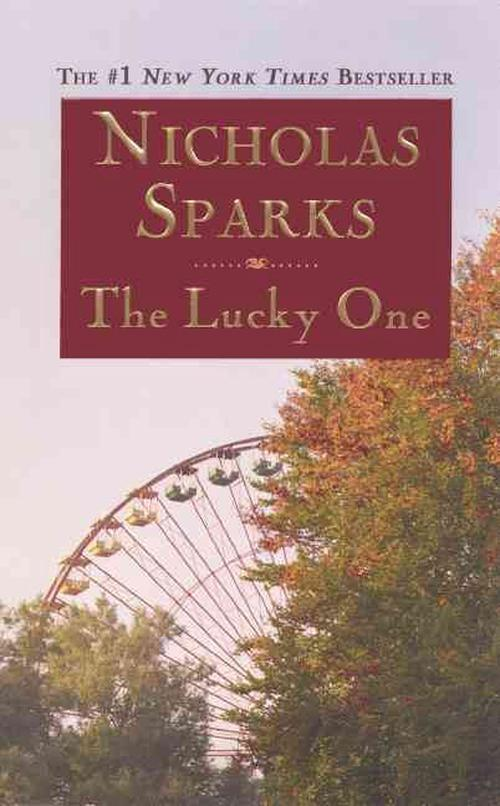 NEW-The-Lucky-One-by-Nicholas-Sparks-Prebound-Book-English-Free-Shipping