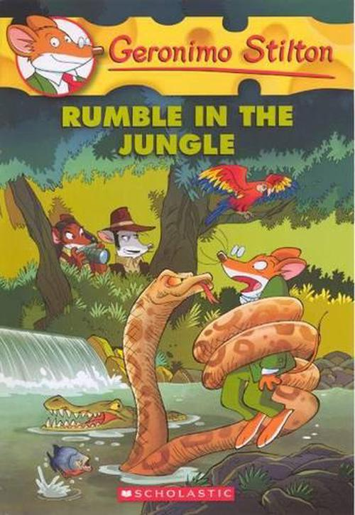 NEW-Rumble-in-the-Jungle-by-Prebound-Book-English-Free-Shipping