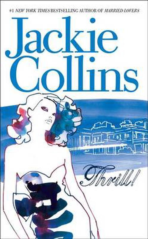 NEW-Thrill-by-Jackie-Collins-Mass-Market-Paperback-Book-English-Free-Shipping