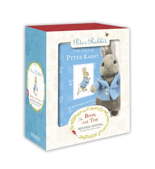 NEW-Peter-Rabbit-Book-and-Toy-With-Plush-Rabbit-by-Beatrix-Potter-Hardcover-Bo
