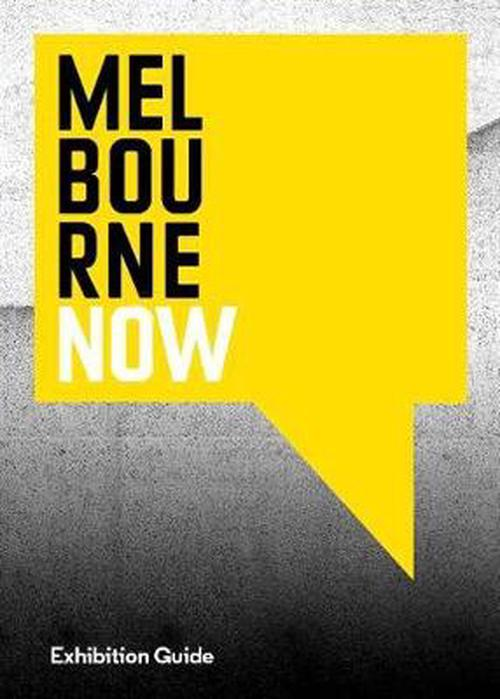 NEW-Melbourne-Now-Exhibition-Guide-by-Hardcover-Book-Free-Shipping