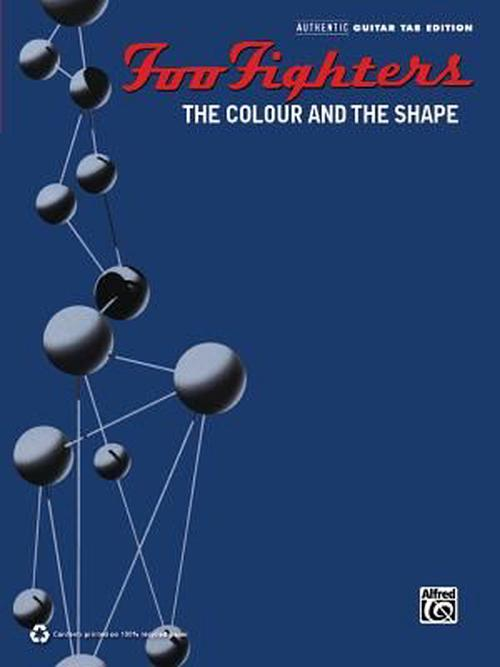 NEW-Foo-Fighters-The-Colour-and-the-Shape-by-Foo-Fighters-Paperback-Book-Engli