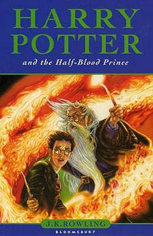 NEW-Harry-Potter-and-the-Half-blood-Prince-by-J-K-Rowling-Hardcover-Book