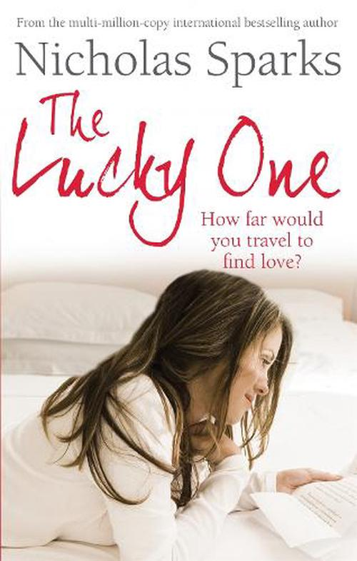 NEW-The-Lucky-One-by-Nicholas-Sparks-Paperback-Book-Free-Shipping