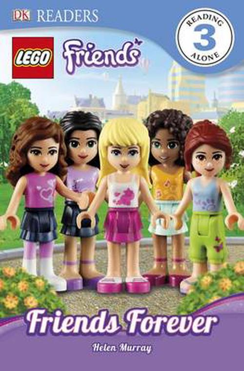 NEW-Lego-Friends-Friends-Forever-by-Helen-Murray-Paperback-Book-English-Free