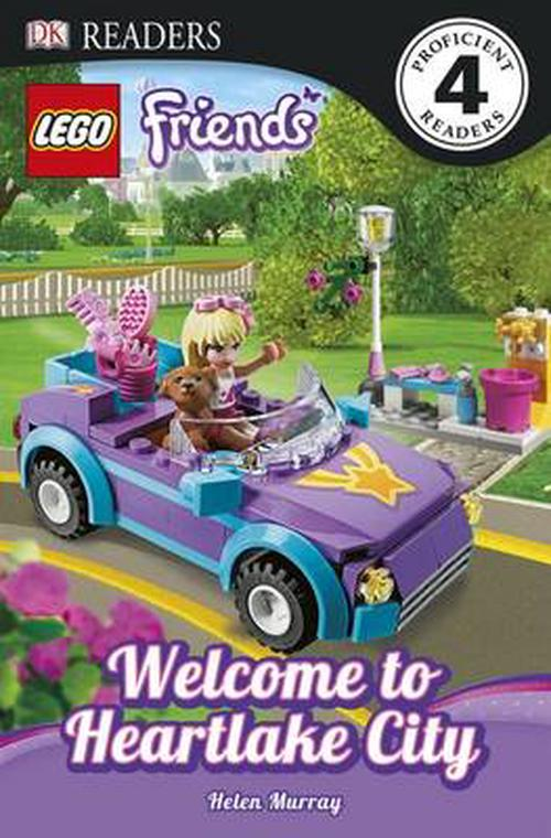 NEW-Lego-Friends-Welcome-to-Heartlake-City-by-Helen-Murray-Paperback-Book