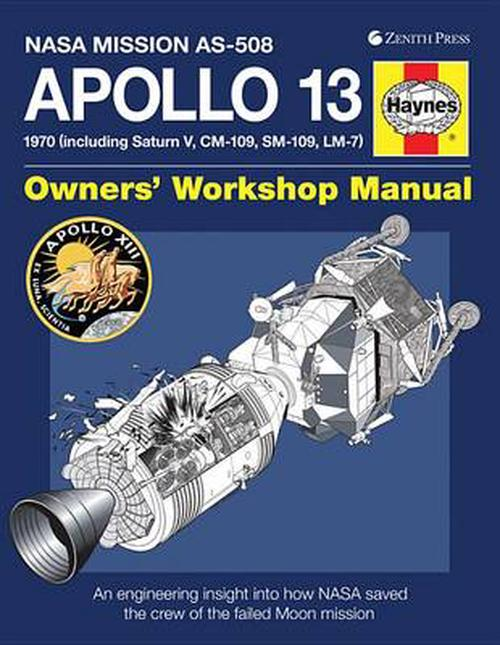 NEW-Apollo-13-Owners-Workshop-Manual-NASA-Mission-AS-508-1970-Including-Satu