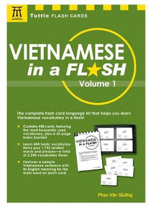 NEW-Vietnamese-in-a-Flash-Volume-1-With-448-Cards-by-Phan-Van-Giuong-Paperbac