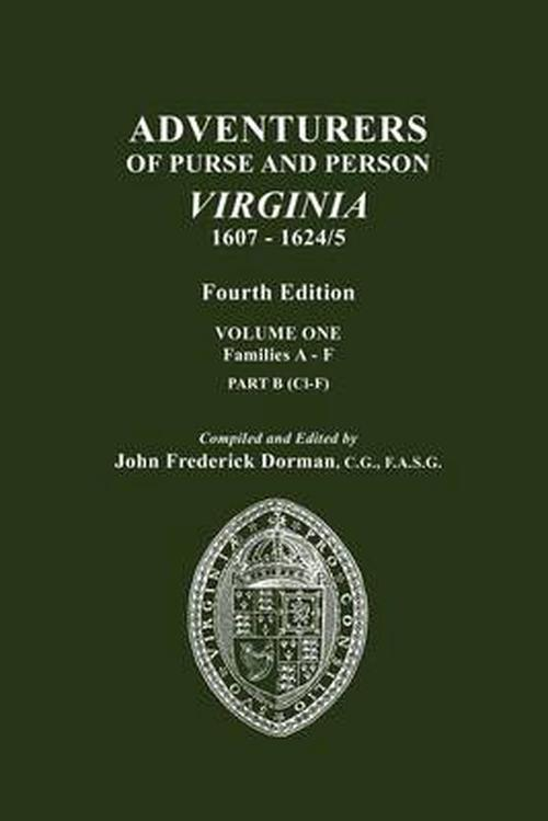 New Adventurers Of Purse And Person Virginia 1607 1624 5
