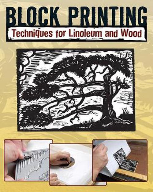NEW-Block-Printing-Techniques-for-Linoleum-and-Wood-by-Sandy-Allison-Paperback