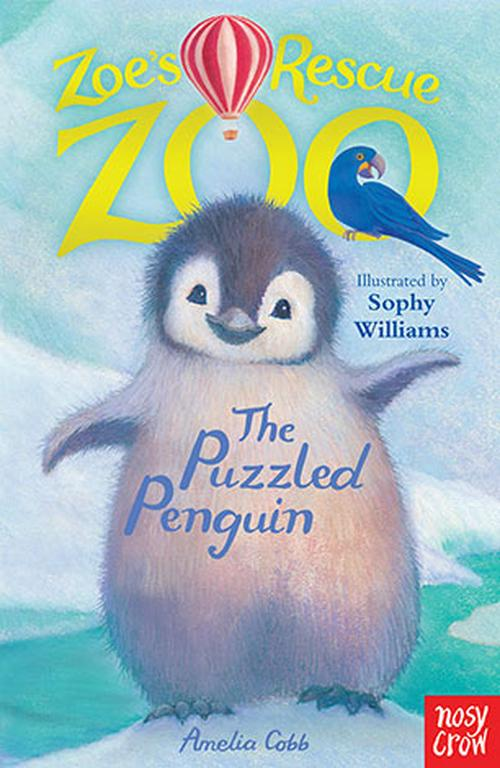 NEW-Zoes-Rescue-Zoo-The-Puzzled-Penguin-by-Amelia-Cobb-Paperback-Book-Free-Shi