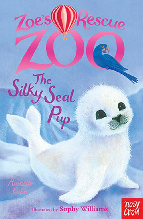 NEW-Zoes-Rescue-Zoo-the-Silky-Seal-Pup-by-Amelia-Cobb-Paperback-Book-Free-Ship