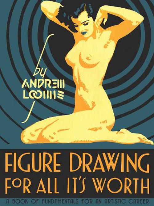 NEW-Figure-Drawing-For-All-Its-Worth-by-Andrew-Loomis-Hardcover-Book-English
