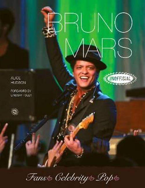 NEW-Bruno-Mars-by-Paperback-Book-Free-Shipping