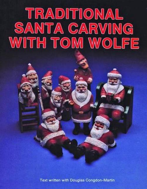New traditional santa carving with tom wolfe by james
