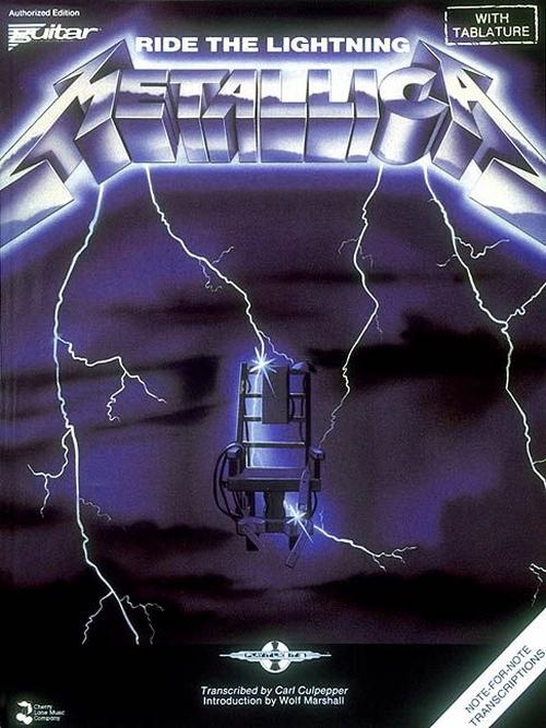 NEW-Metallica-Ride-the-Lightning-by-Metallica-Paperback-Book-English-Free-Sh