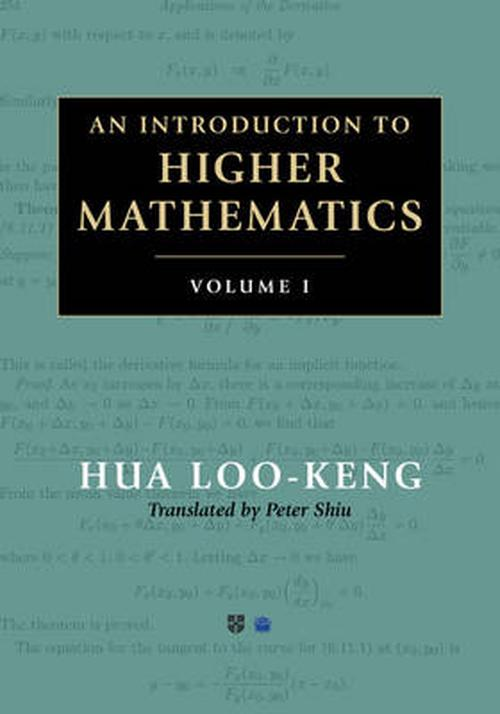 NEW-Introduction-to-Higher-Mathematics-2-Volume-Set-by-Loo-Keng-Hua-Hardcover-Bo