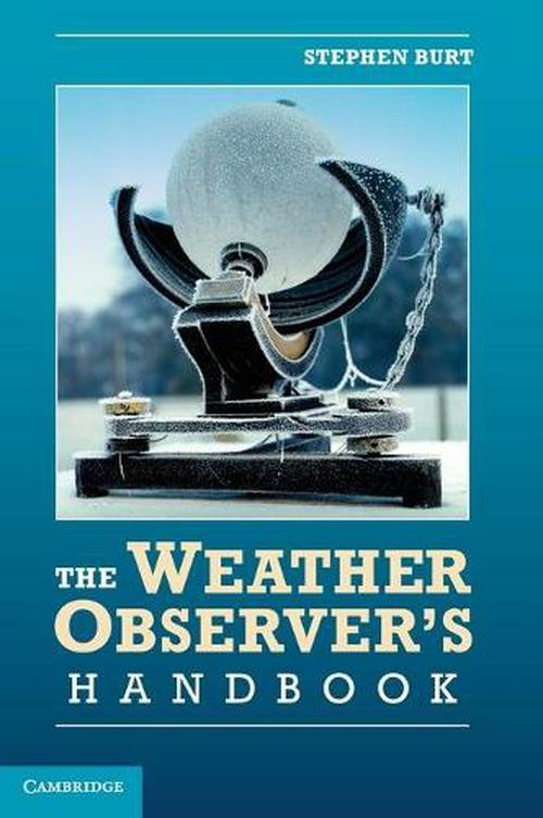 NEW-The-Weather-Observers-Handbook-by-Stephen-Burt-Hardcover-Book-English-Fre