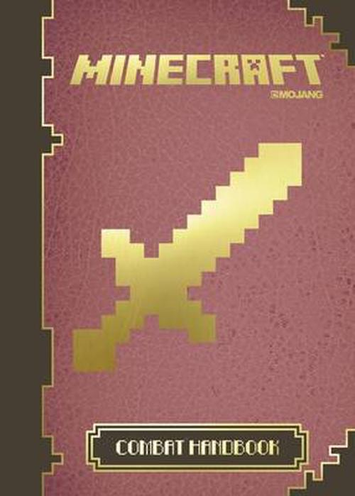NEW-Minecraft-the-Official-Combat-Handbook-by-Hardcover-Book-Free-Shipping