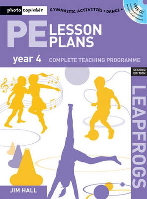 NEW-Pe-Lesson-Plans-Year-4-by-Jim-Hall-Paperback-Book-Free-Shipping