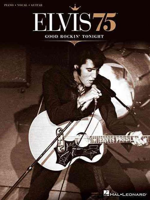 NEW-Elvis-75-Good-Rockin-Tonight-by-Paperback-Book-English-Free-Shipping