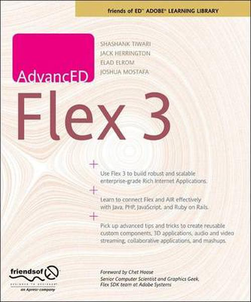 NEW-Advanced-Flex-3-by-Shashank-Tiwari-Paperback-Book-English-Free-Shipping