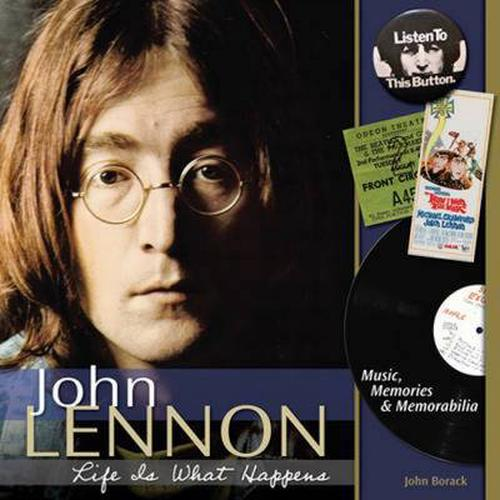 NEW-John-Lennon-Life-Is-What-Happens-Music-Memories-Memorabilia-by-John-M