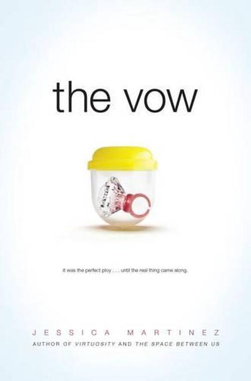 NEW-The-Vow-by-Jessica-Martainez-Hardcover-Book-English-Free-Shipping