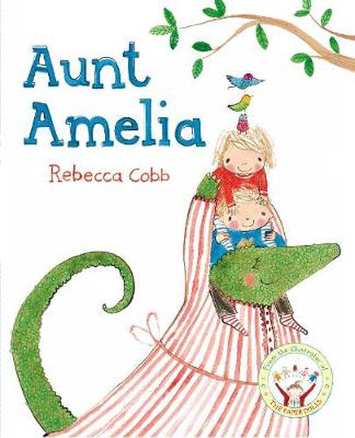 NEW-Aunt-Amelia-by-Rebecca-Cobb-Paperback-Book-Free-Shipping