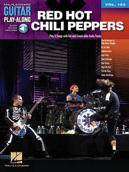 NEW-Red-Hot-Chili-Peppers-Guitar-Play-Along-Volume-153-by-Paperback-Book-Engli
