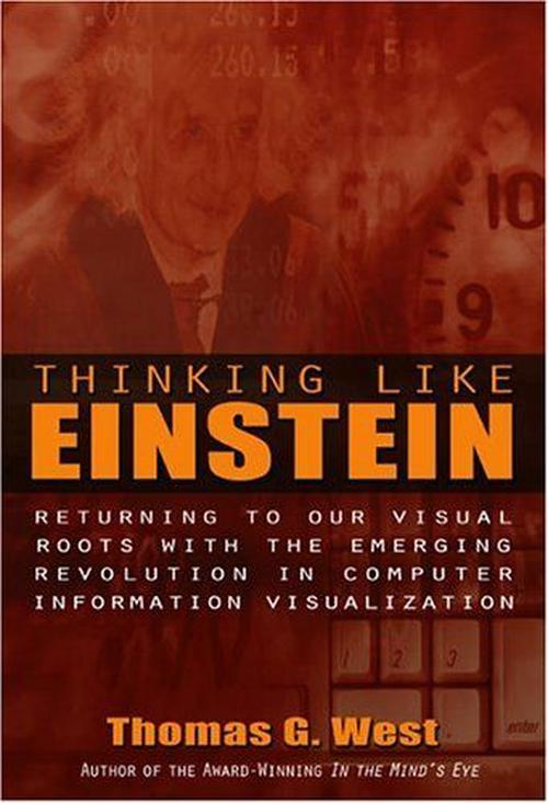 NEW-Thinking-Like-Einstein-by-Thomas-G-West-Hardcover-Book-English-Free-Shipp