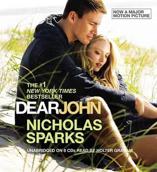 NEW-Dear-John-by-Nicholas-Sparks-Compact-Disc-Book-English-Free-Shipping