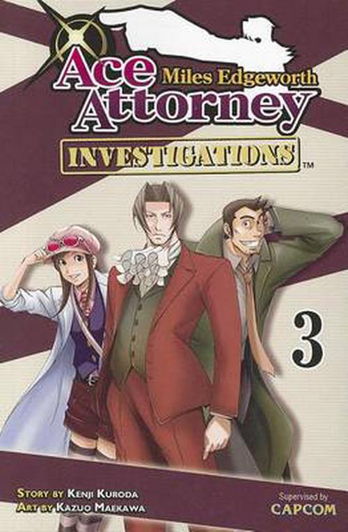 NEW-Miles-Edgeworth-Ace-Attorney-Investigations-3-by-Kenji-Kuroda-Paperback-Boo