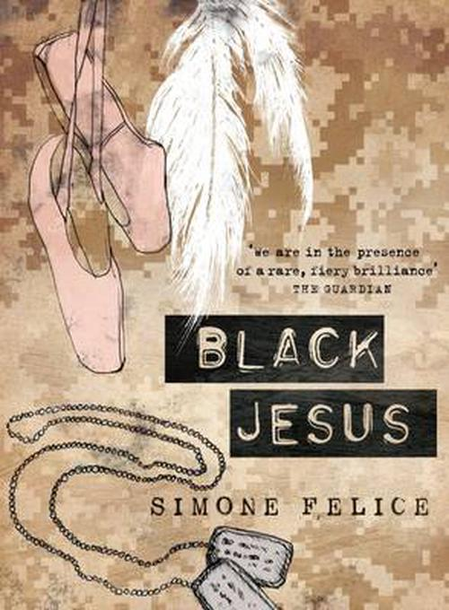 NEW-Black-Jesus-by-Simone-Felice-Paperback-Book-English