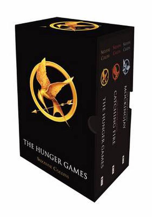 NEW-The-Hunger-Games-Boxed-Set-by-Suzanne-Collins-Paperback-Book-Free-Shipping