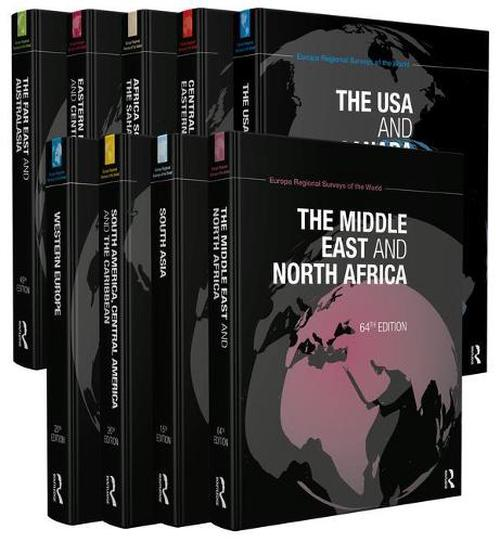 NEW-The-Europa-Regional-Surveys-of-the-World-Set-2012-by-Hardcover-Book-English