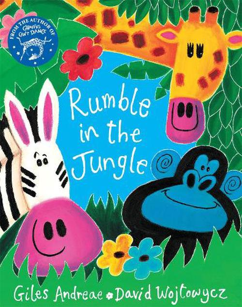 NEW-Rumble-in-the-Jungle-by-Giles-Andreae-Paperback-Book-English-Free-Shipping