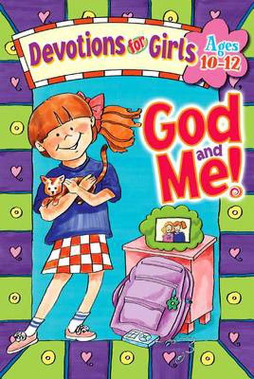 NEW-God-and-Me-Devotions-for-Girls-by-Linda-M-Washington-Spiral-Book-English
