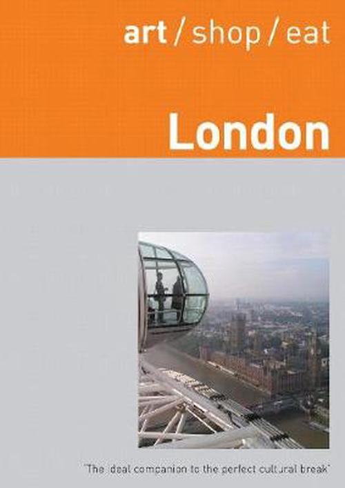 NEW-Art-Shop-Eat-London-by-Delia-Gray-durant-Paperback-Book