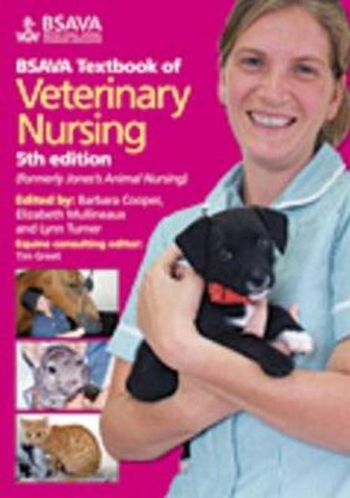 NEW-BSAVA-Textbook-of-Veterinary-Nursing-by-Barbara-Cooper-Paperback-Book-Engli