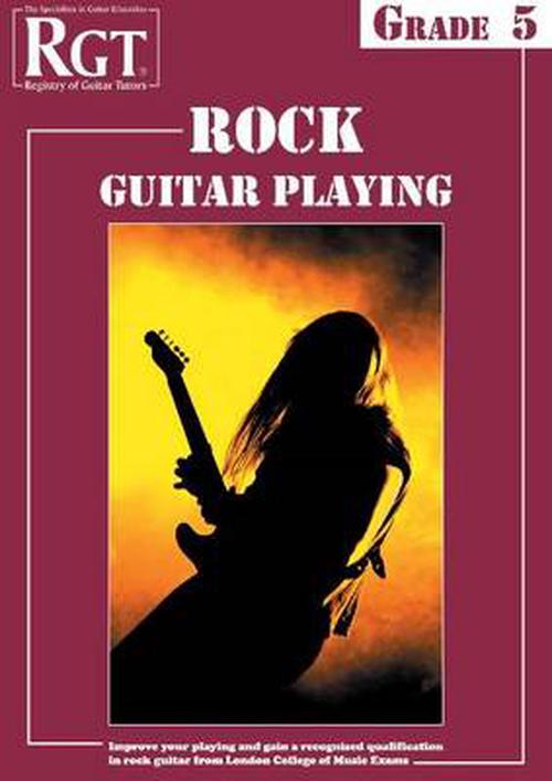 NEW-Rgt-Rock-Guitar-Playing-Grade-Five-by-Tony-Skinner-Paperback-Book-Engli
