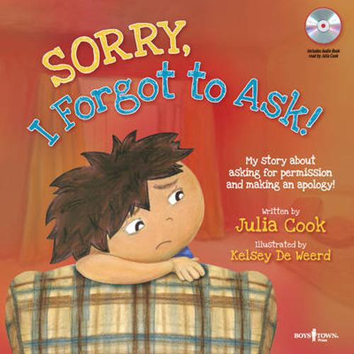 NEW-Sorry-I-Forgot-to-Ask-by-Julia-Cook-Paperback-Book-English-Free-Shipping
