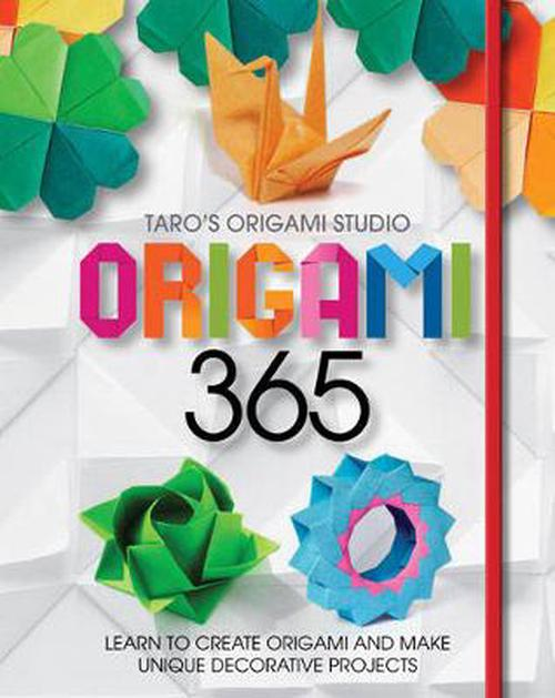 NEW-Origami-365-by-Tara-Yaguchi-Paperback-Book-English-Free-Shipping