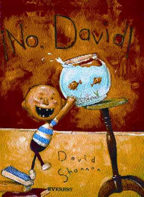 NEW-No-David-Spanish-by-David-Shannon-Paperback-Book-Spanish-Free-Shipping