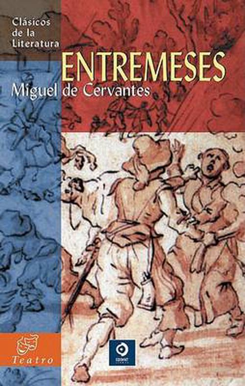 NEW-Entremeses-by-Miguel-De-Cervantes-Paperback-Book-Spanish-Free-Shipping